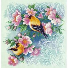 Cross Stitch Kit Beautiful romance art. 64-08