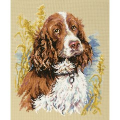 Cross Stitch Kit Cross Stitch Kit My friend ( dog spaniel) art. 59-14