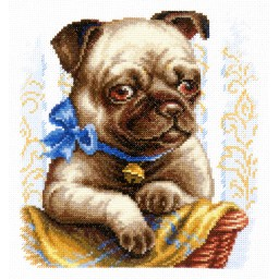 Cross Stitch Kit I'm good (dog) art. 59-15
