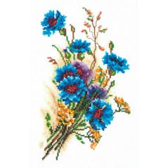 Cross Stitch Kit Cornflowers art. 40-51