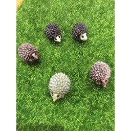 5 pcs Hedgehog Fairy Garden Miniatures Micro Landscape Garden Decoration