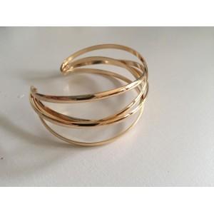Open Cuff Bracelet Golden color