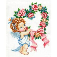 Cross Stitch Kit Happy Valentines Day art. 35-15