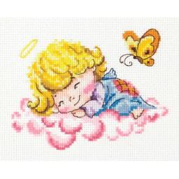Cross Stitch Kit Lovely angel art. 35-10