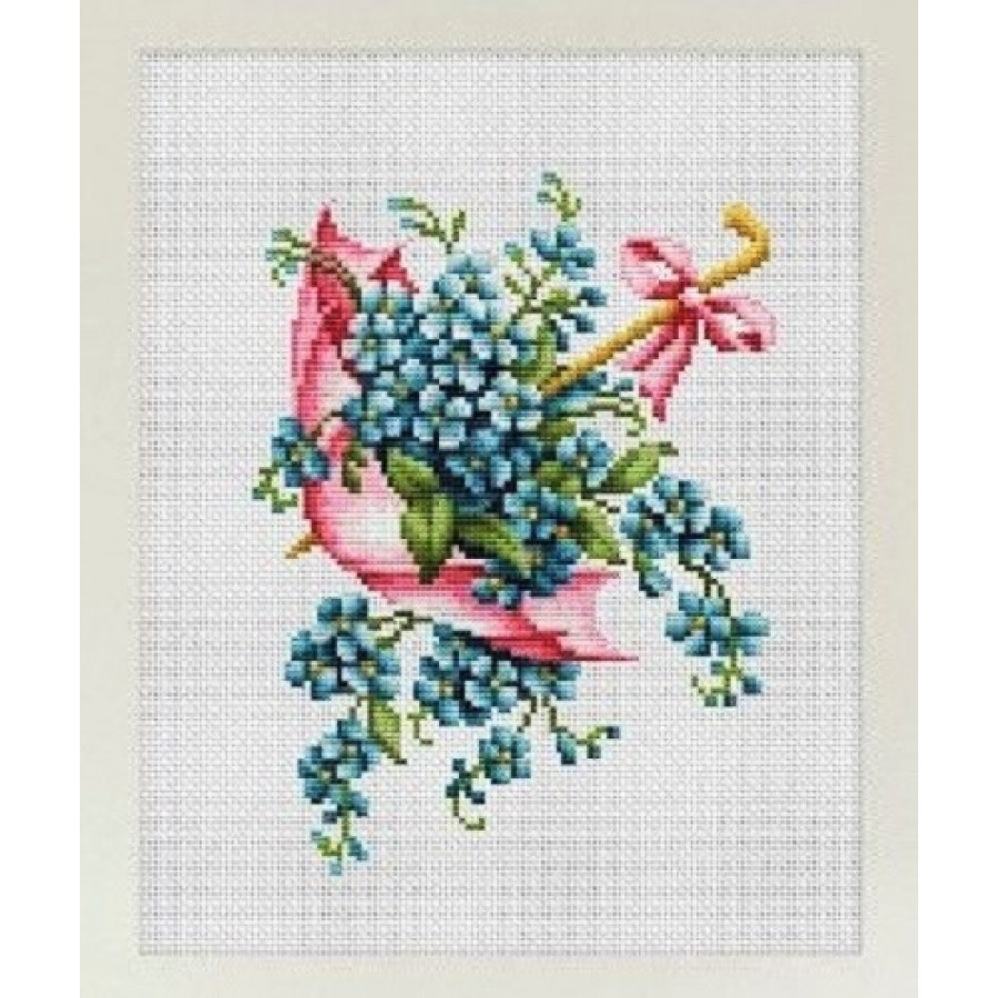 Cross Stitch Kit Birds of Paradise art.566
