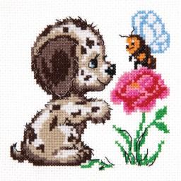 Cross Stitch Kit Who are you ( my dog) art. 18-50