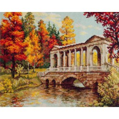 Cross Stitch Kit Crimson and gold art. 45-04