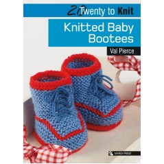 20 Twenty to Knit: Knitted Baby Bootees
