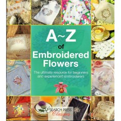 A-Z of Embroidered Flowers Bumpkin