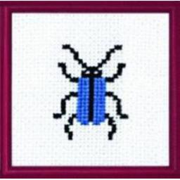 Cross Stitch Chart Beetle PDF Pattern