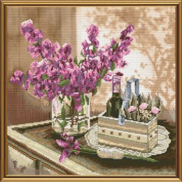Cross Stitch Kit The June morning CP3197