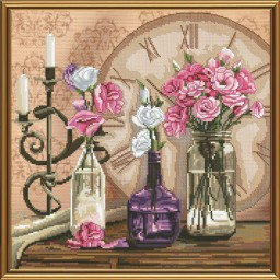 Cross Stitch Kit Flower time CP3198