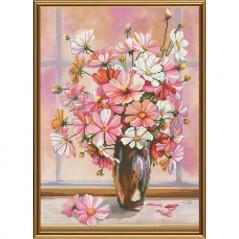 Cross Stitch Kit Flower gauze CP3205