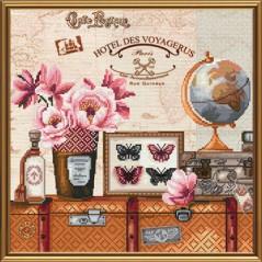 Cross Stitch Kit Round-the-world trip CP3047