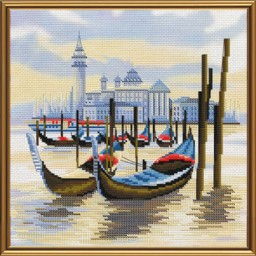 Cross Stitch Kit Wharf in Venice CB4069