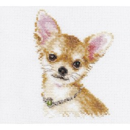 Cross Stitch Kit Chihuahua art. 1-30