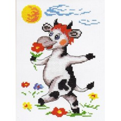 Cross Stitch Kit Cow art. 26-19