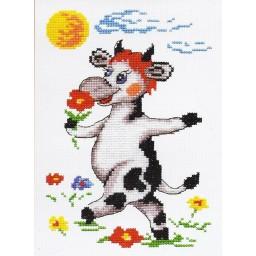 Cross Stitch Kit Cow art. 26-19