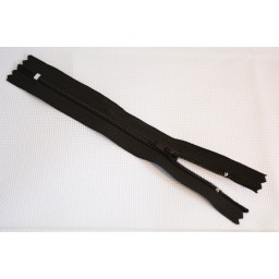 2 pcs Black ( 6 Inch) 15 CM Closed-End Nylon Coil Zippers Tailor Sewing Craft