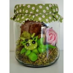 Fairy Wish Jars Fairy Baby dragon small size 2