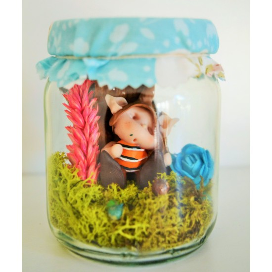 Fairy Wish Jars Fairy Baby boy small size 1