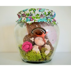Fairy Wish Jars Fairy Girl 1 medium size