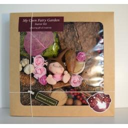 My Own Fairy Garden Fairy girl- Starter Kit