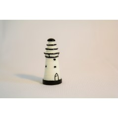 1 Pc White Lighthouse Miniature Fairy Garden Home Houses Decoration Mini Craft Micro Landscaping Decor DIY Accessories