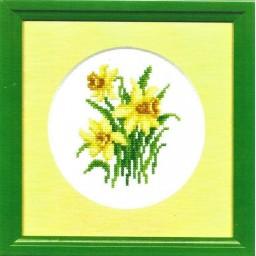 Cross Stitch Kit Daffodils art. 316