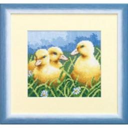 Cross Stitch Chart Ducklings PDF Pattern
