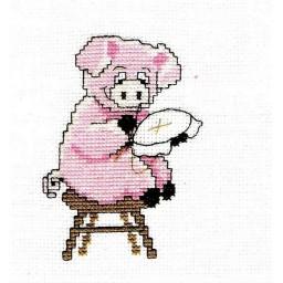 Cross Stitch Kit Embroiderer art. 389