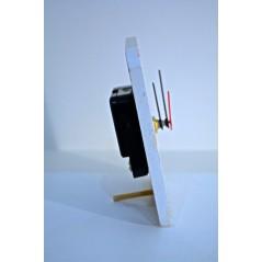 Rectangle Shaped MDF Mini Clock Cactus