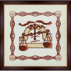 Cross Stitch Kit Horoscope Libra G-010