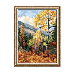 Gobelin kit Autumn Forest (unprinted) Petit point