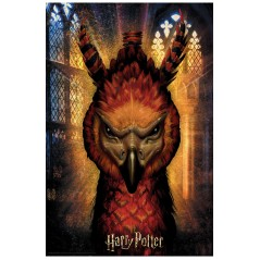 HARRY POTTER /  FAWKES PRIME 3D PUZZLE 300 PIECES