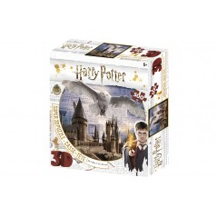 HARRY POTTER / HOGWARTS AND HEDWIG PRIME 3D PUZZLE 500 PIECES