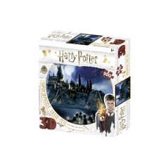 HARRY POTTER / HOGWARTS 3D PUZZLE 500 PIECES
