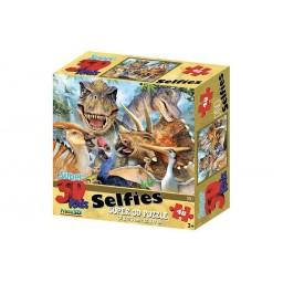 SELFIES – DINO PRIME 3D PUZZLE 48 PIECES
