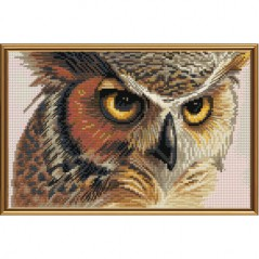 Cross Stitch Kit Eagle-owl HB5509