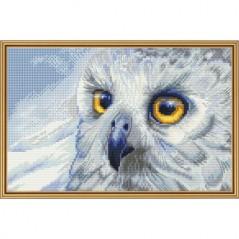 Cross Stitch Kit Snowy owl HB5510-Y