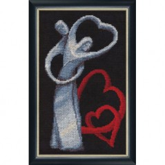 Cross stitch kit Love LZH-003