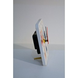 Rectangle Shaped MDF Mini Clock llama