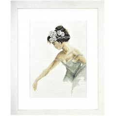 Cross Stitch Kit Ballerina art. 35012