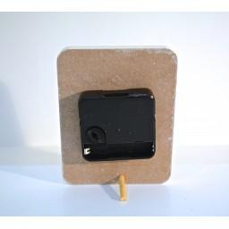 Rectangle Shaped MDF Mini Clock Lavanda HL278 Lavanda