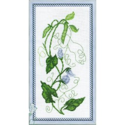 Cross stitch kit Flowers art. 387