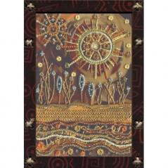 Creative needlework kit Illusion of the Sun OP 5519