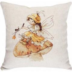 Cross Stitch Kit Pillow Fairy PB-133