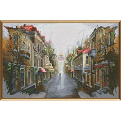 Cross Stitch Kit City for two PE2329