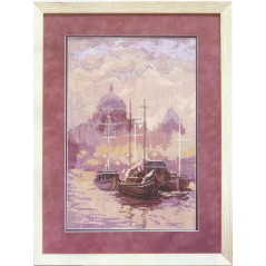 Cross Stitch Kit At the Berth art. 585