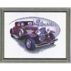 Cross Stitch Kit Retro-auto art. 346